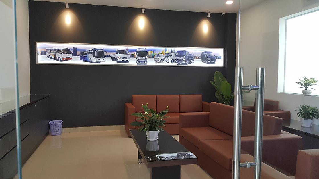 Phòng chờ dịch vụ Hyundai Á Châu